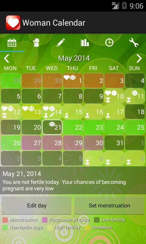 Woman Calendar for Android