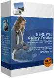 Html Web Gallery Creator