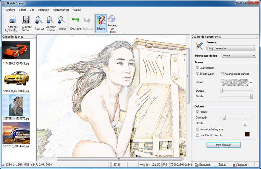 Convierte tus fotos en dibujos artísticos de forma sencilla Manifestación