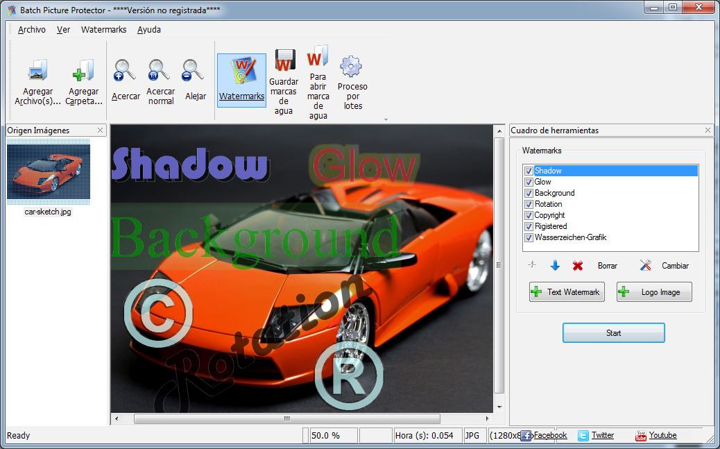 Batch Picture Protector Capturas de pantalla