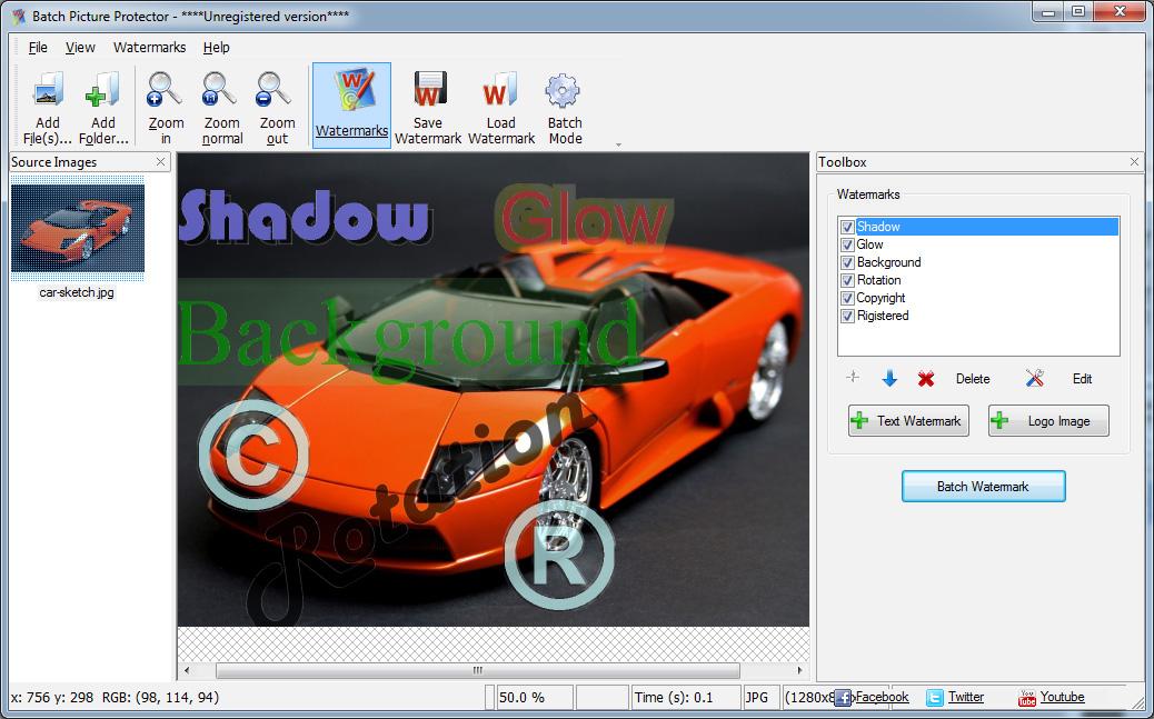 Batch Picture Protector Capturas de tela