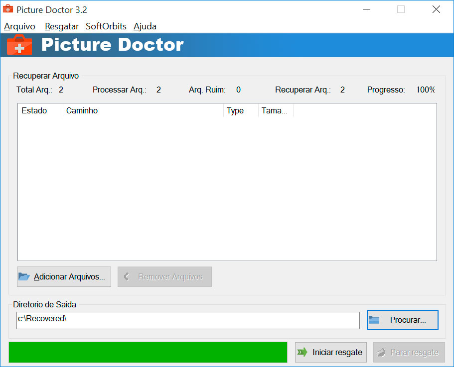 Picture Doctor Capturas de tela