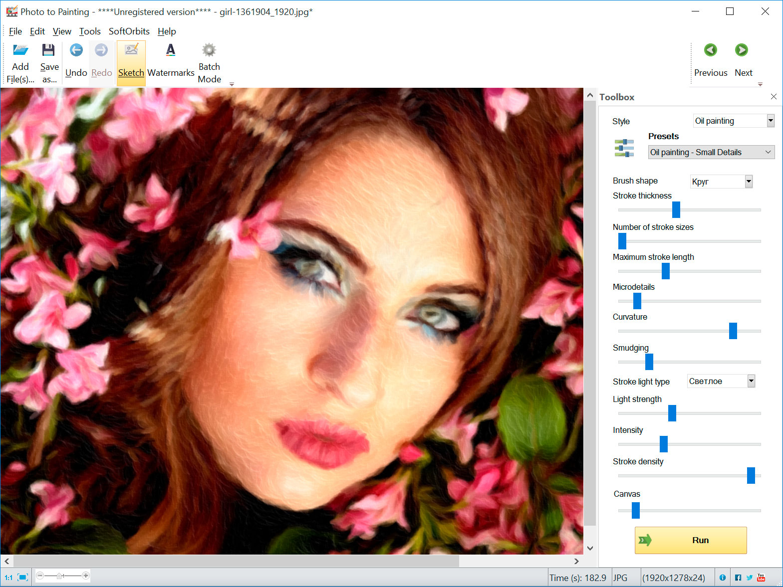 Picture to Painting Converter Screenshots
