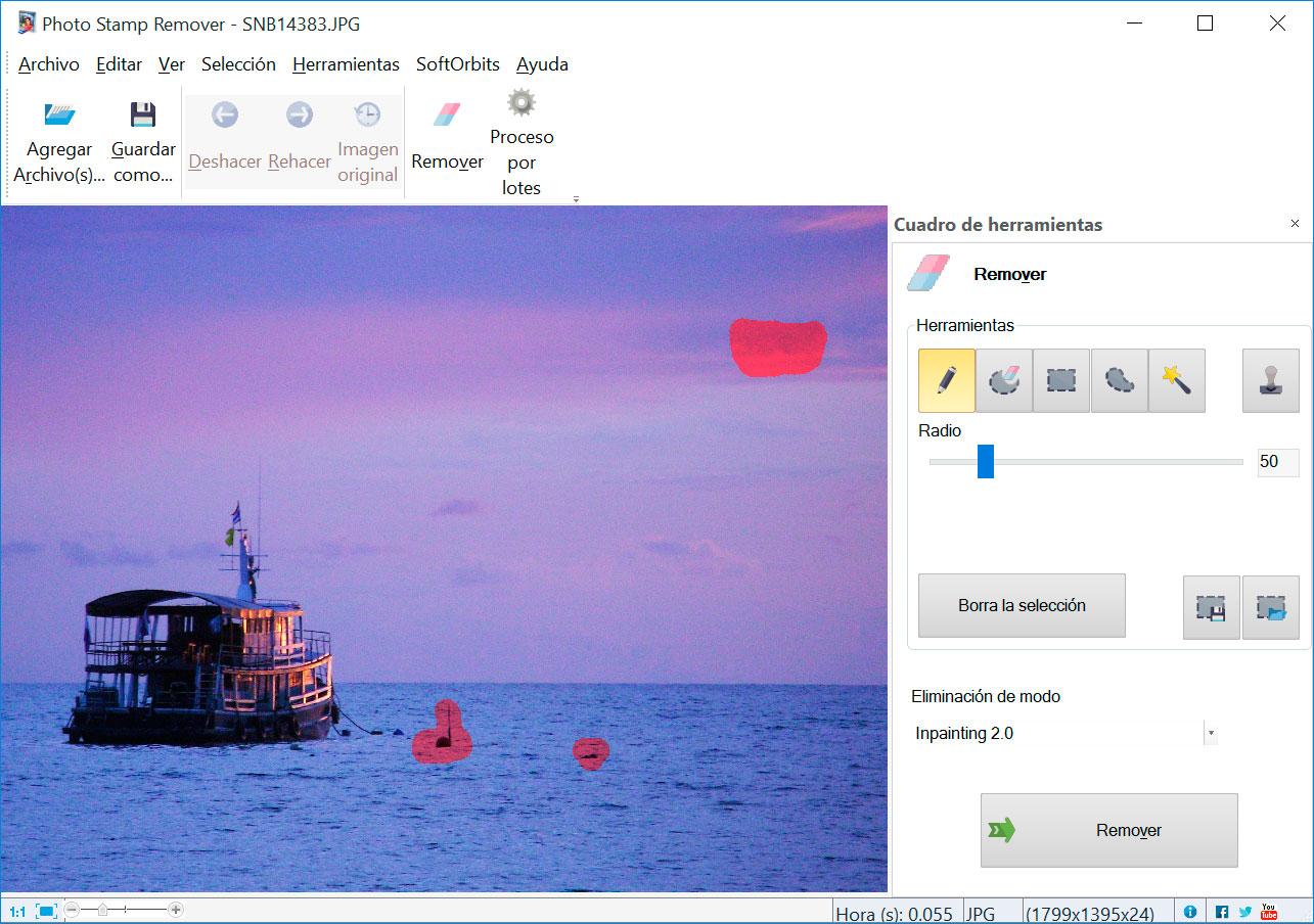 Photo Stamp Remover Capturas de pantalla