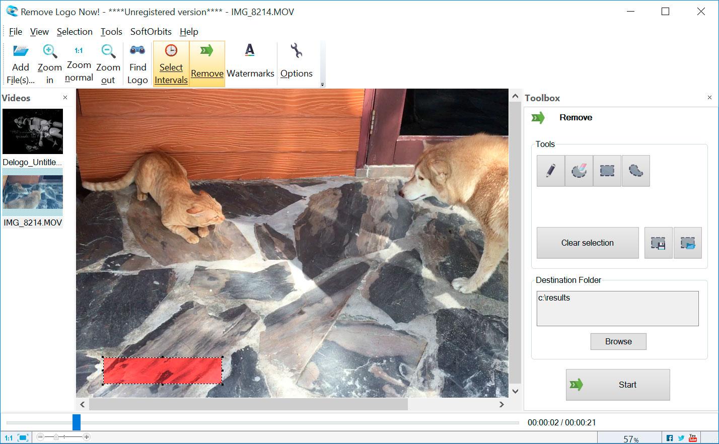 Remove Logo Now Screenshots