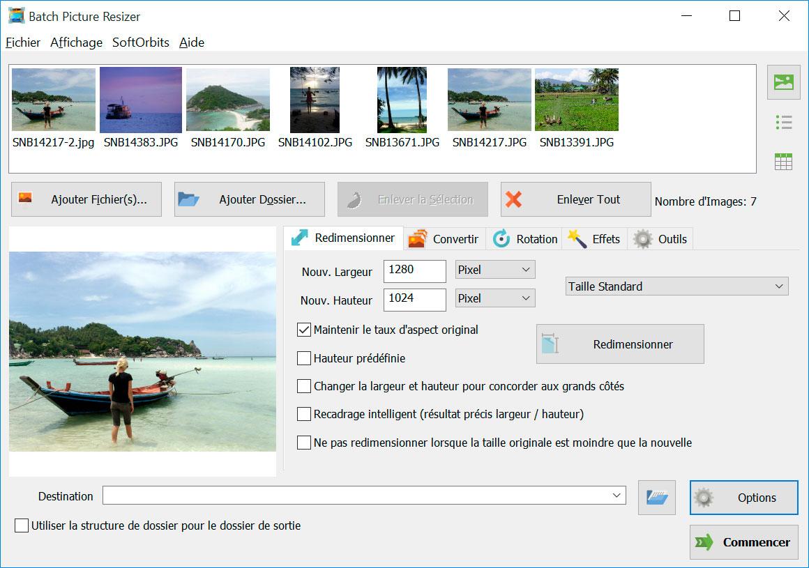 Batch Picture Resizer Captures d'écran
