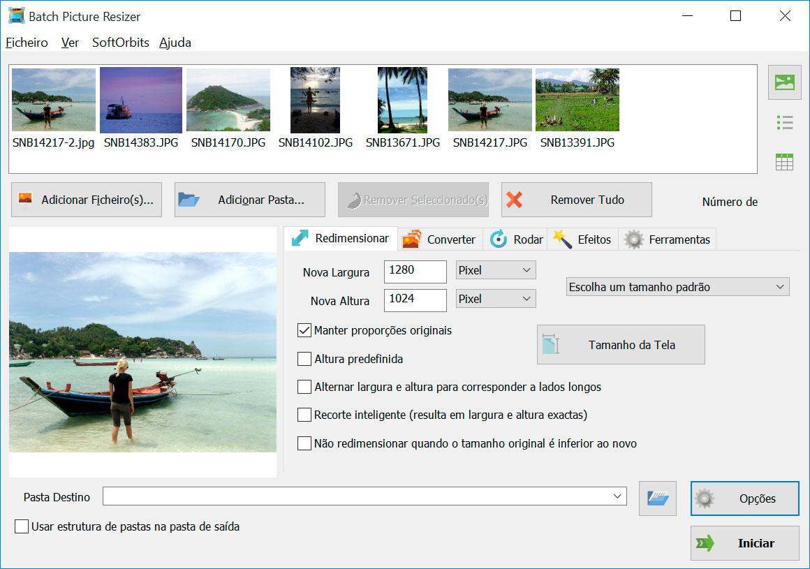 Batch Picture Resizer Capturas de tela